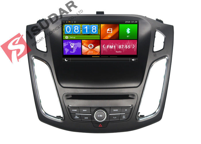 Dynamic UI Wince System 2 Din Car Dvd Player For FOCUS 2015 Heat Dissipation