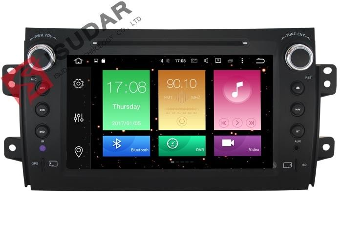 SUZUKI SX4 Android Car DVD Player With Tire Pressure Monitoring Heat Dissipation