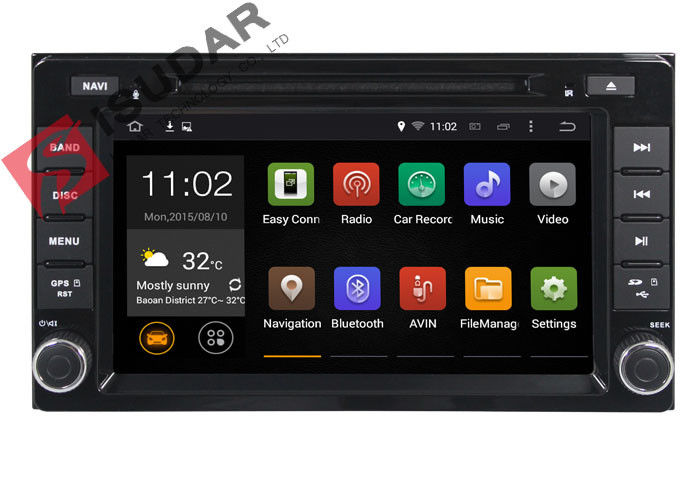 Support 4G Android 7.1.1 Toyota DVD GPS Navigation For Toyota Sienna Navigation System