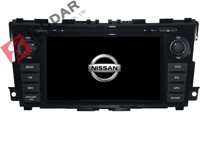 7 Inch Flat Screen Car Radio Dvd Player , Nissan TEANA In Dash Navigation With Backup Camera